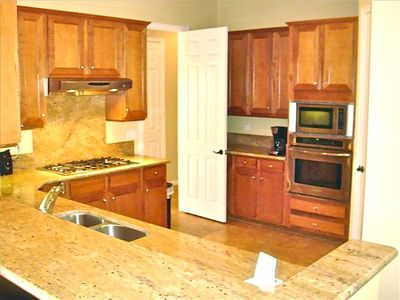Gourmet Kitchen is Fully Stocked, Granite Counter-tops, SS Apliances