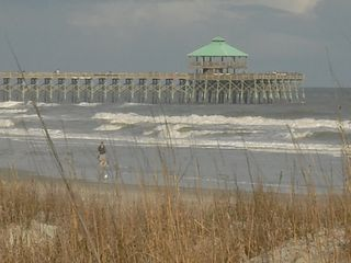 Folly Beach house photo - Pier is 6 blocks away: an easy walk