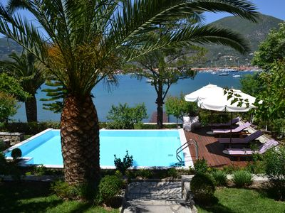 Superb waterfront villa with private jetty, sauna and motorboat included