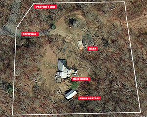 Montauk cottage photo - AERIAL VIEW OF PROPERTY