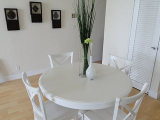 Hollywood Beach condo photo - Dining table can be expanded