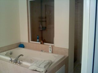 Englewood condo photo - MASTER BATH TUB AND WALK IN SHOWER