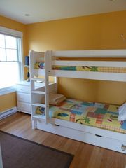 Bedroom # 3, Twin Bunk with pull out trundle - Narragansett cottage vacation rental photo