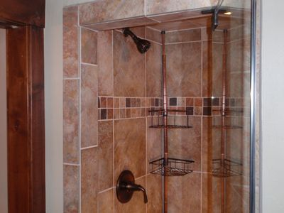 Steam Shower in Master Bath