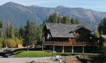 West Glacier lodge rental - Heavens Peak Lodge