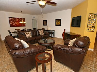 Cypress Pointe house rental - Family Room Combo
