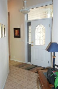 Entry into the home