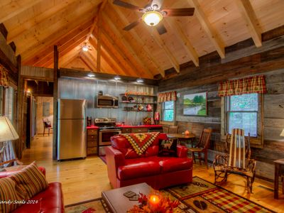 Private get away creek side cabin with everything.