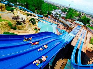 Branson cabin photo - Branson has water parks open year round...some of the best in the country.