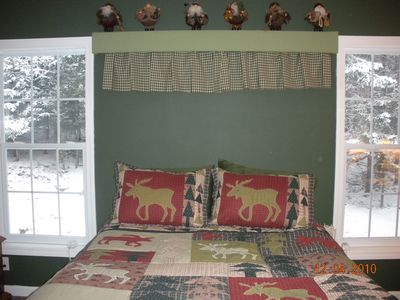 Franconia house rental - Master Bed Room