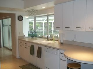 Sarasota house photo - Kitchen with pass through window to lanai
