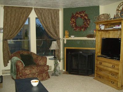 Powder Mountain condo rental - Cozy Living Room - Unit #301