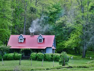 Robbinsville farmhouse photo - New Metal Roof, 2012