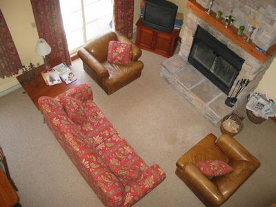 Sitting Room and Log Fire
