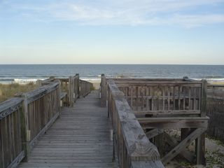 Kure Beach house photo - Enjoy the sea breeze!