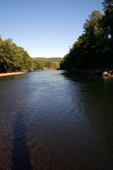 Phoenicia estate photo - The Esopus Creek in the summer - a short walk from the property.