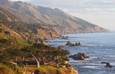 Big Sur estate rental - Anderson Canyon