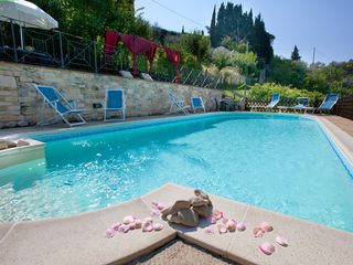 Perugia apartment photo - The new charming eco salt water swimming pool - Villa holiday rental Perugia