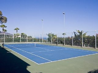 Malibu condo photo - Just one of two tennis courts.