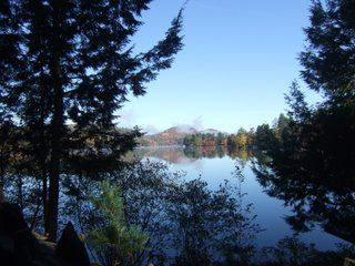 Brant Lake cabin photo - Spectacular Views of the Lake and Mountains.