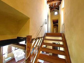 Gaiole in Chianti villa photo - Stairs to 3rd floor