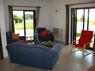 Porto de Mos apartment rental - The 'Esti': livingroom