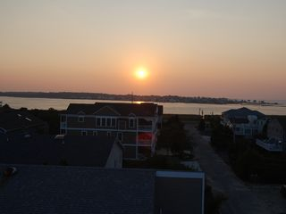 Bethany Beach house photo - Sunset bay view from crows nest