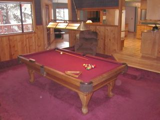 Stateline house photo - Custom 8 Foot Pool Table in this Lake Tahoe Rental