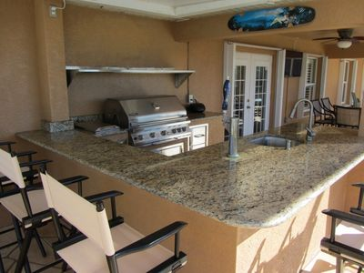 Cape Coral villa rental - Pool area & Bar