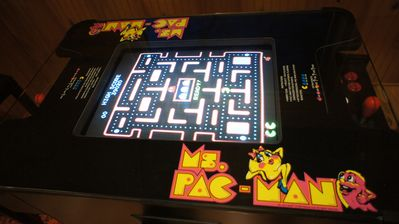 PAC-MAN with 60 other games!