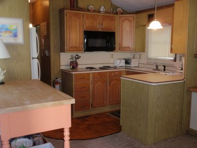 Cudjoe Key cottage rental - Kitchen