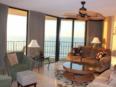 Windy Hill condo rental - Feel like you're floating on water with ocean front views from every room