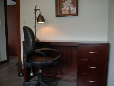 2nd bedroom includes a desk