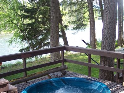 Nice Hot Tub on the River - Nice Hot Tub on the River