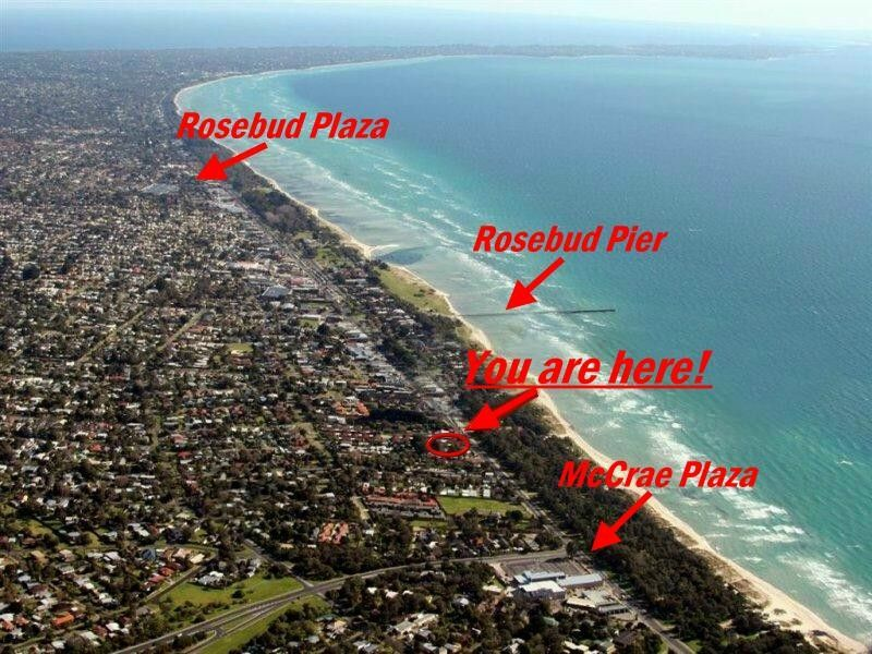 Rosebud Australia  city pictures gallery : Cross the Road to ....Sun, Surf, Swim, Dive, Fish. Also close is Golf ...