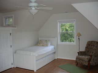 Harpers Ferry house photo - Loft Bedroom with Twin Bed and Twin Trundle Bed