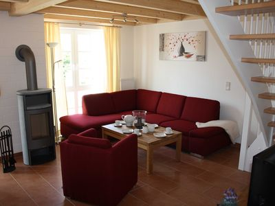 5 bedroom luxury apartment with sauna, Jacuzzi, fireplace, W-LAN in the harbor