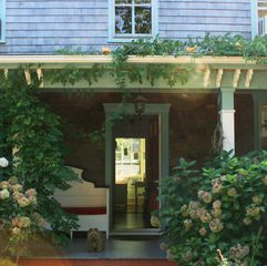 East Quogue house photo - 'The Birdhouse' with front porch