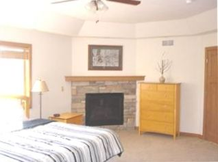 Master Bedroom - fireplace