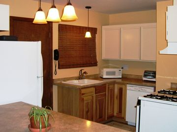 Fully Equipped Kitchen includes dishwasher
