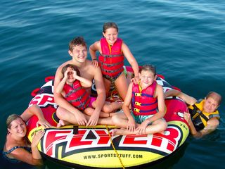 Branson condo photo - Tubing for a great group shot, so many great photo opps in this beautiful place.