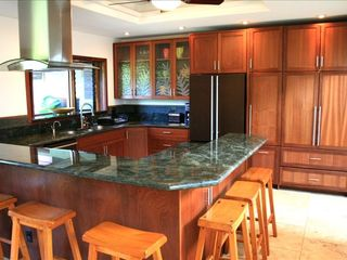 Kailua house photo - very functional kitchen w pantry & wine fridge