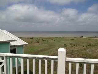 Galveston villa photo - Just one of the many 360 degree incredible views of the Bay, wetlands and Gulf