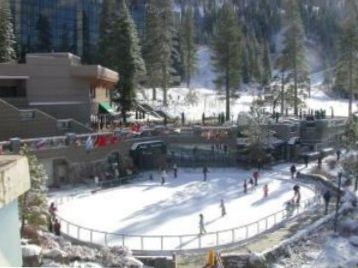 Ice Skating Rink at the Resort