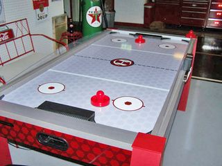 Nashville house photo - Air hockey is one of several games in the Activities Building.