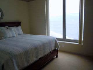 Kingston Plantation condo photo - Ocean view from bed in Bedroom Three