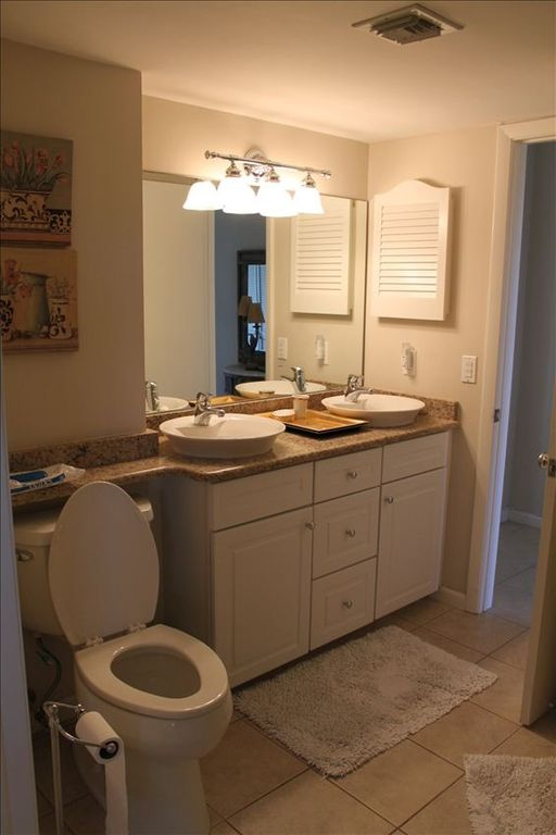 Full Bathroom with Granite countertops