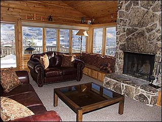 Snowmass Village house photo - Fireplace in Great Room