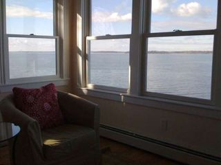 Harpswell cottage photo - View from living room