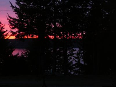 Lakebay cottage rental - Sunset